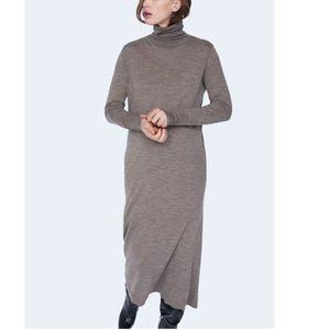 Zara limited edition wool dress